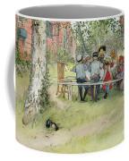 Breakfast Under The Big Birch Coffee Mug