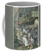 Breaking Bulk On Board A Tea Ship Coffee Mug