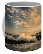 Breaking Waves Iv Coffee Mug