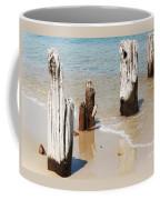 A Unique Breakwater On Martha's Vineyard  Coffee Mug