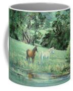 Breathing In Strength Unsaddled Coffee Mug