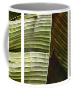 Breeze - Banana Leaf Triptych Coffee Mug