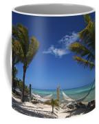 Breezy Island Life Coffee Mug by Adam Romanowicz