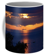 Brela Sunset Croatia Coffee Mug