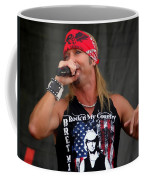 Bret Michaels In Philly Coffee Mug