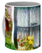 Brick And Blooms Coffee Mug