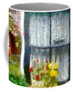 Brick And Blooms Coffee Mug