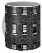 Brick Wall And Windows Coffee Mug