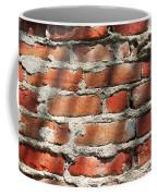 Brick Wall Shadows Coffee Mug