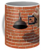 Brick Wall Snap Shot Coffee Mug