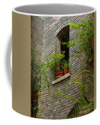 Brick With Greenery Coffee Mug