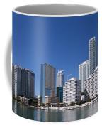 Brickell Skyline Coffee Mug