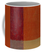 Bricks And Reds Coffee Mug by Michelle Calkins