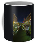Bricktown Canal Vertical Coffee Mug