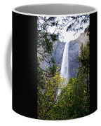Bridal Veil Falls In Yosemite Valley In Spring- 2013 Coffee Mug