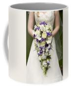 Bride And Wedding Bouquet Coffee Mug