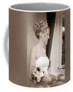 Bride Awaits Her Groom Coffee Mug