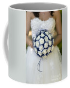 Bride With Flowers Coffee Mug