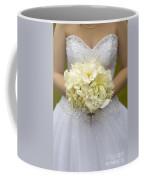 Bride With Wedding Bouquet Coffee Mug