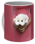 Bridesmaid Holding A Bouquet Of Berbera Coffee Mug
