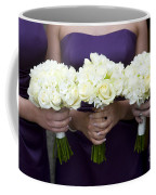 Bridesmaids With Flowers Coffee Mug