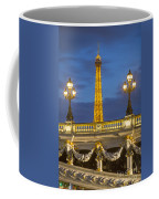 Bridge And Eiffel Coffee Mug