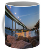 Bridge And Fishing Pier Coffee Mug