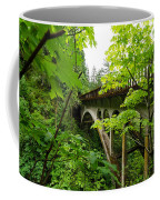 Bridge And Lush Vegetation Coffee Mug