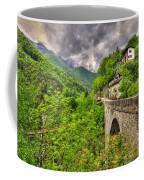Bridge And Mountain Coffee Mug