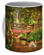 Bridge And Swan Coffee Mug