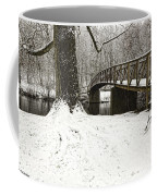 Bridge At Old Mine Park Coffee Mug
