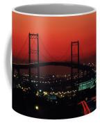 Bridge At Sunset Coffee Mug