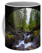 Bridge Below Rainier Coffee Mug by Chad Dutson