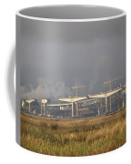 Bridge Building Coffee Mug by Bill Gallagher