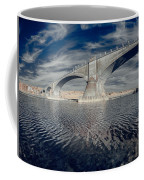 Bridge Curvature In Color Coffee Mug