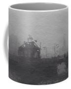 Bridge In The Fog Coffee Mug