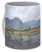 Bridge In Vang Vieng Laos Coffee Mug