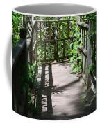 Bridge In Woods Coffee Mug