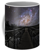 Bridge On A Distant Planet Coffee Mug