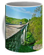 Bridge Over Birdsong Hollow At Mile 438 Of Natchez Trace Parkway-tennessee Coffee Mug