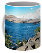 Bridge Over Columbia River At Umatilla-or  Coffee Mug
