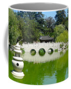 Bridge Over Emerald Water Coffee Mug