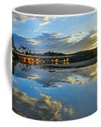 Bridge Over Lake At Sunset Narrabeen Lakes Sydney Coffee Mug