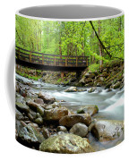 Bridge Over Little Pigeon River Coffee Mug