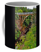 Bridge Over North Harbour River-nl Coffee Mug