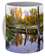 Bridge Over The Pond Coffee Mug