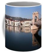 Bridge Over The Rhone River Coffee Mug