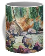 Bridge To The Hot Springs Coffee Mug