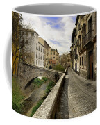 Bridges At Darro Street In Historic Albaycin In Granada Coffee Mug