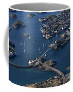 Bridging The Ocean Coffee Mug